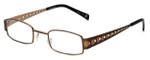 Cinzia Designer Eyeglasses Industrial C2 in Bronze 44mm :: Custom Left & Right Lens