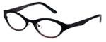 Cinzia Designer Eyeglasses Jitterbug C3 in Black Wine 46mm :: Custom Left & Right Lens