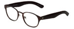 Cinzia Designer Eyeglasses The Innovator C2 in Brown 49mm :: Custom Left & Right Lens