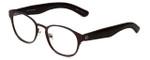 Cinzia Designer Eyeglasses The Innovator C2 in Brown 49mm :: Custom Left & Right Lens
