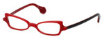 Cinzia Designer Eyeglasses Bewitched C3 in Red 42mm :: Rx Single Vision