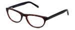 Cinzia Designer Eyeglasses Libertine C3 in Merlot Tortoise 50mm :: Progressive