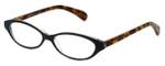 Cinzia Designer Reading Glasses Sure Thing C1 in Black 50mm