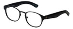 Cinzia Designer Reading Glasses The Innovator C1 in Black 49mm