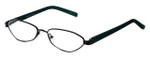 Cinzia Designer Reading Glasses Trendies Chilly C2 in Black Teal 50mm