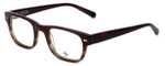Original Penguin Designer Eyeglasses The Greer in Burgundy 49mm :: Rx Single Vision