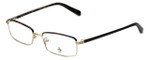 Original Penguin Designer Eyeglasses The Granger in Gold 53mm :: Progressive