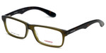 Carrera Designer Eyeglasses CA6605-0BED in Green Havana 54mm :: Custom Left & Right Lens