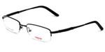 Carrera Designer Eyeglasses CA7452-091T in Black 50mm :: Custom Left & Right Lens