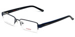 Carrera  Designer Eyeglasses CA7585-1P6 in Matte Blue 52mm :: Rx Single Vision