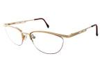 Cazal Designer Eyeglasses Cazal 425-973 in Gold 51mm :: Custom Left & Right Lens