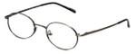 MetalFlex Designer Eyeglasses Model M in Ant-Pewter 48mm :: Rx Bi-Focal