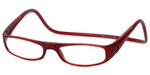 Clic Magnetic Eyewear Regular Fit Euro Style in Bordeaux :: Custom Left & Right Lens