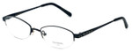 Vera Wang Designer Eyeglasses Glitter in Black 50mm :: Progressive