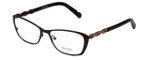 Vera Wang Designer Eyeglasses Spica in Brown 50mm :: Progressive