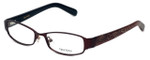 Vera Wang Designer Reading Glasses V043 in Burgundy 50mm