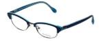 Lilly Pulitzer Designer Eyeglasses Franco in Navy 49mm :: Custom Left & Right Lens