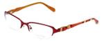 Lilly Pulitzer Designer Eyeglasses Jade in Berry 52mm :: Custom Left & Right Lens