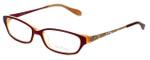 Lilly Pulitzer Designer Eyeglasses Kelton in Raspberry 53mm :: Custom Left & Right Lens