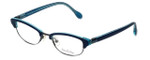 Lilly Pulitzer Designer Eyeglasses Franco in Navy 49mm :: Rx Single Vision