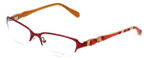 Lilly Pulitzer Designer Eyeglasses Jade in Berry 52mm :: Rx Single Vision