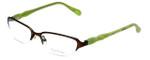 Lilly Pulitzer Designer Eyeglasses Jade in Brown 50mm :: Rx Single Vision