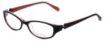 Lilly Pulitzer Designer Eyeglasses Kolby in Black 51mm :: Rx Single Vision