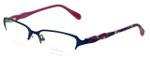 Lilly Pulitzer Designer Eyeglasses Jade in Navy 50mm :: Rx Bi-Focal