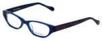 Lilly Pulitzer Designer Eyeglasses Winnie in Navy 49mm :: Rx Bi-Focal