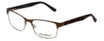 Eddie-Bauer Designer Eyeglasses EB8321 in Satin-Brown 55mm :: Custom Left & Right Lens