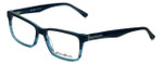 Eddie-Bauer Designer Eyeglasses EB8395 in Matte-Sapphire-Fade 55mm :: Custom Left & Right Lens