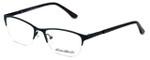 Eddie-Bauer Designer Eyeglasses EB8602 in Satin-Black-Burgundy 51mm :: Rx Single Vision