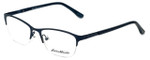 Eddie-Bauer Designer Eyeglasses EB8602 in Satin-Navy 51mm :: Rx Single Vision