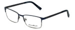 Eddie-Bauer Designer Eyeglasses EB8604 in Navy-Gunmetal 54mm :: Rx Single Vision