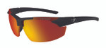 Tifosi High Performance Sunglasses Jet FC in Matte-Black & Smoke Red Lens
