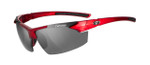 Tifosi High Performance Sunglasses Jet FC in Metallic-Red & Smoke Lens