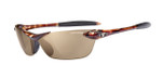 Tifosi High Performance Sunglasses Seek in Tortoise & Polarized Brown Lens
