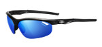 Tifosi High Performance Sunglasses Veloce in Gloss-Black with 3 Lens Set