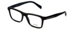 Prada Designer Eyeglasses VPR06R-TV61O1 in Brushed-Brown 53mm :: Rx Single Vision