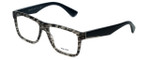 Prada Designer Eyeglasses VPR07S-UBD1O1-56mm in Grey-Tortoise 56mm :: Rx Single Vision