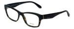 Prada Designer Eyeglasses VPR24R-2AU1O1 in Tortoise 52mm :: Rx Single Vision