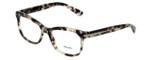Prada Designer Eyeglasses VPR10R-UAO1O1 in Spotted-Opal-Brown 53mm :: Progressive