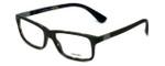 Prada Designer Eyeglasses VPR06S-UBF1O1 in Matte-Green 54mm :: Rx Bi-Focal
