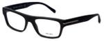 Prada Designer Eyeglasses VPR18R-TV61O1 in Brushed-Brown 53mm :: Rx Bi-Focal