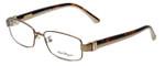 Salvatore Ferragamo Designer Eyeglasses SF2115-210 in Shiny-Brown 53mm :: Rx Bi-Focal