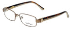 Salvatore Ferragamo Designer Reading Glasses SF2115-210 in Shiny-Brown 53mm