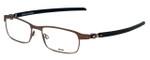Oakley Designer Eyeglasses Tincup Carbon OX5094-0350 in Powder Toast 50mm :: Progressive