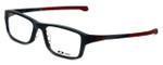 Oakley Designer Eyeglasses Chamfer OX8039-0355 in Satin Pavement 55mm :: Progressive