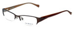Lucky Brand Designer Eyeglasses Casey in Brown 52mm :: Custom Left & Right Lens