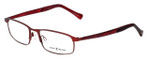 Lucky Brand Designer Eyeglasses Fortune in Red 52mm :: Custom Left & Right Lens